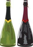 игристое вино иллюстрация штока