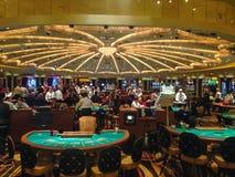 Игровая комната казино в Неваде США Весна 2015 стоковые изображения rf