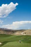 игроки в гольф Стоковые Изображения RF