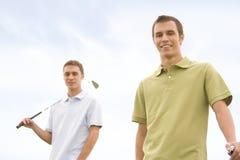 игроки в гольф Стоковая Фотография