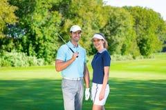 игроки в гольф молодые стоковое фото