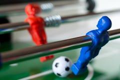 Игроки в футболе таблицы Стоковое Изображение RF