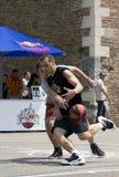 игроки 1 дракой шарика Стоковые Изображения