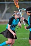игроки lacrosse Стоковое Изображение