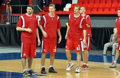 Игроки Spartak Стоковые Изображения