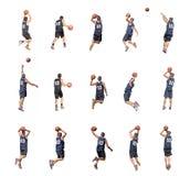 15 игроков Стоковые Изображения RF