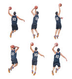 6 игроков Стоковые Изображения RF