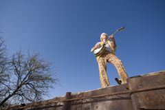 игрок банджо Стоковое Изображение RF