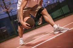 игрок баскетбола красивый Стоковые Изображения RF