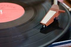 Игрок винила Turntable рекордный стоковое изображение
