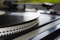 Игрок винила Turntable рекордный стоковая фотография