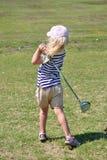 игрок в гольф немногая стоковое изображение rf