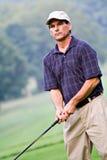 игрок в гольф неровный стоковые изображения