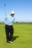 игрок в гольф Стоковые Изображения