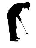 игрок в гольф Стоковые Фото