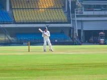 Игрок в крикет Naman Ojha, смотря в камере стоковое изображение rf