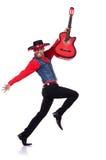 Игрок гитары Стоковое Фото
