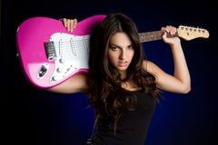 игрок гитары Стоковое Изображение RF
