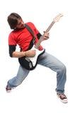 игрок гитары Стоковые Изображения RF