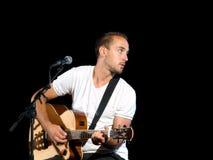 игрок гитары стоковые фотографии rf