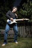 игрок гитары Стоковая Фотография RF