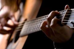 игрок гитары Стоковое фото RF