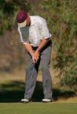 игрок гольфа Стоковое Фото