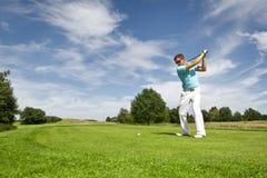 игрок гольфа стоковое изображение rf