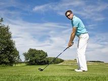 игрок гольфа Стоковое фото RF