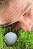 Игрок гольфа Стоковые Изображения RF
