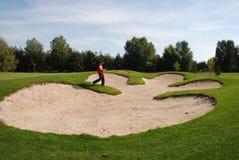 Игрок гольфа Стоковые Фотографии RF
