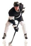 игрок иллюстрации льда хоккея конструкции вы стоковое изображение