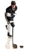 игрок иллюстрации льда хоккея конструкции вы Стоковое фото RF