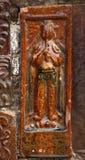 игрок каннелюры стародедовского brickchina керамический Стоковое Фото