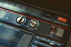 Игрок кассеты музыки Стоковая Фотография
