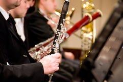 игрок кларнета Стоковые Фотографии RF
