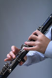 Игрок кларнета Стоковые Изображения