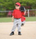 игрок лиги бейсбола маленький Стоковое фото RF