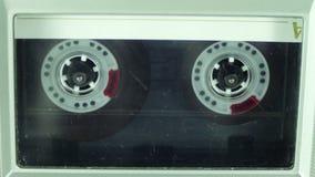 Игрок магнитофонной кассеты видеоматериал
