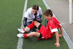 игрок нюни футбола стоковое изображение rf