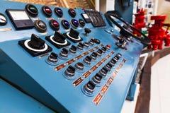 игрок панели управления управлением кнопок Стоковая Фотография