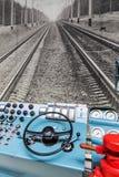 игрок панели управления управлением кнопок Стоковые Изображения RF