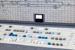 игрок панели управления управлением кнопок Стоковые Изображения