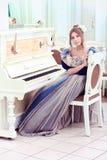 игрок рояля Стоковая Фотография RF