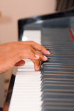 игрок рояля Стоковое фото RF