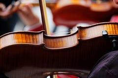 Игрок скрипки Стоковые Фотографии RF