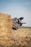 Игрок спорта пейнтбола Стоковая Фотография RF