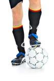 Игрок с шариком Стоковые Фотографии RF