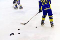 Игрок хоккея на льде Стоковое Фото