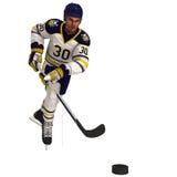 Игрок хоккея на льде Стоковые Фото